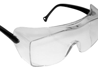 OX BLACK TEMPLE CLEAR ANTIFOG LENS - 12163