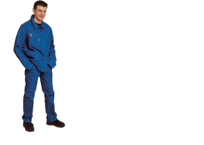 BLUE WORKING TROUSERS 62-P/EACH