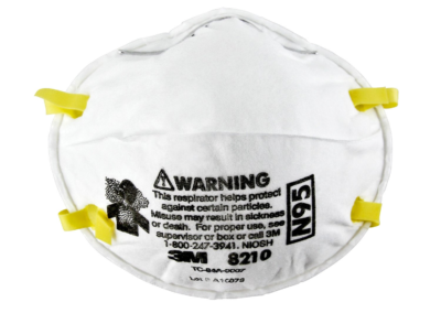 DISPOSABLE PARTICULATE RESPIRATOR 8210